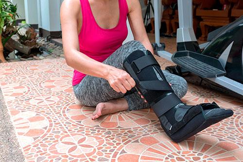 брэйс при стресс переломе пяточной кости