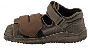 Послеоперационный ботинок с жесткой подошвой
